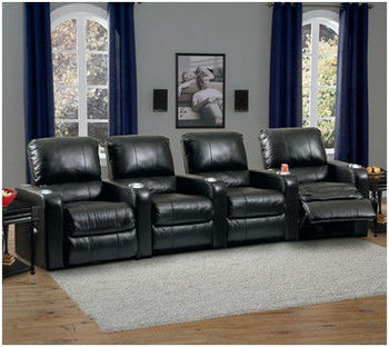 home theater seats recliner sofa love seat theatre chairs. Black Bedroom Furniture Sets. Home Design Ideas