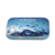 Custom hot sale high grade luxury protect eye contact lens hard travel case with mirror