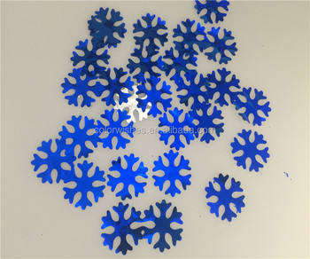 4cm Metallic Foil Snowflake Confetti Wedding Party Supplies Buy