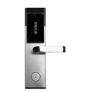 fireproof Stainless Steel 304 Durable Indoor Swipe Card Hotel Door Lock For Sale