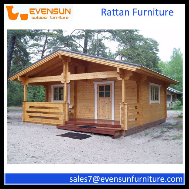 Lovely Prefabricated Log Cabins Wooden House Price