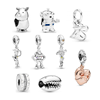 Unique Jewelry factory silver 925 Toy stories buzz light year dangle charms fit for pandora bracelet