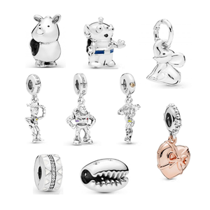 Unique Jewelry factory silver 925 Toy stories buzz light year dangle charms