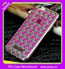 JESOY New Arrival Electroplate Diamond Silicone Agate Phone Case For iPhone 5 SE Back Case