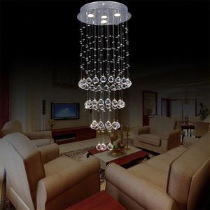 Decoration Square Shape Three Tier Modern Led Crystal Ceiling Chandeliers Ul Ce Listed