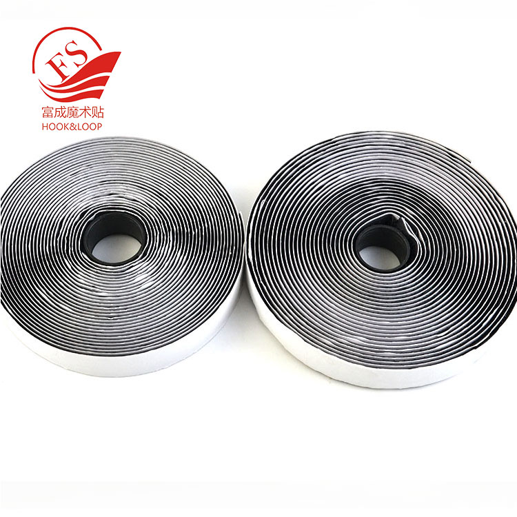Custom 20MM*2M ROLL adhesive hook loop magic tape sticky for organization, mounting, hanging, storing
