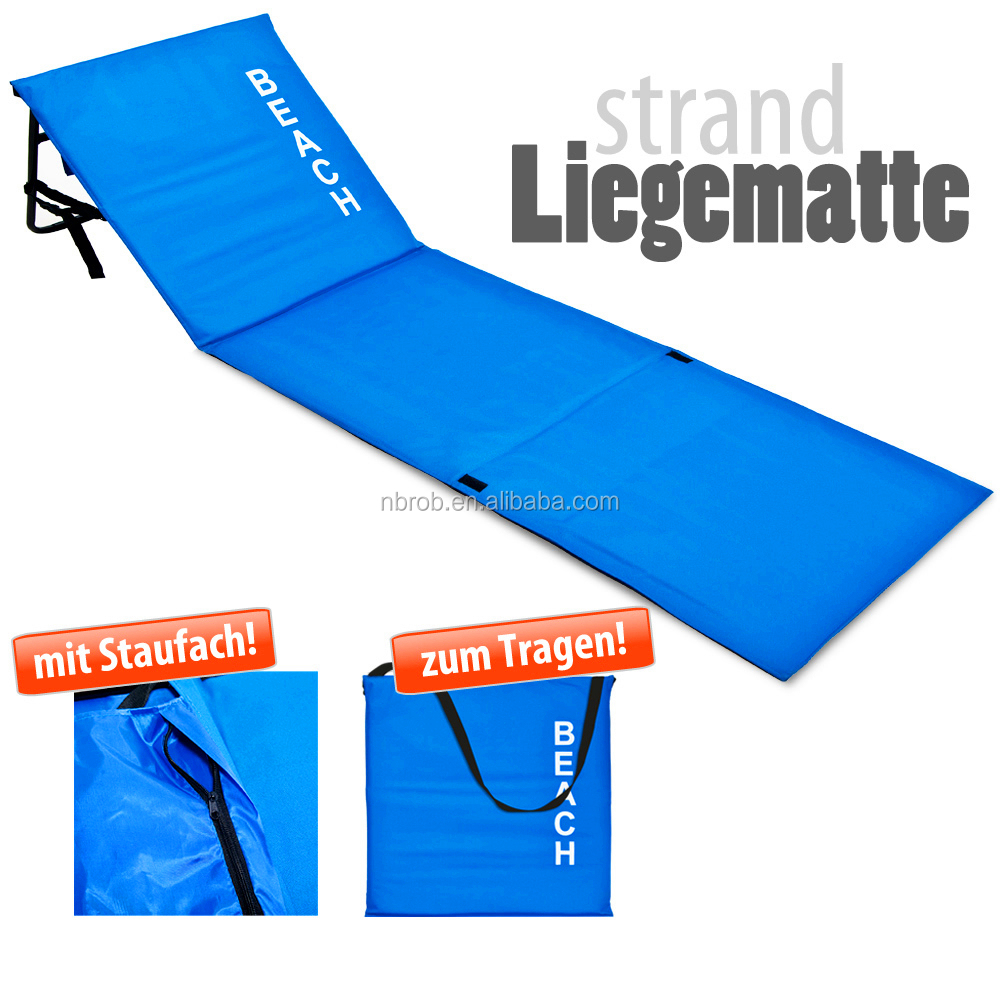 Colorful Outdoor Foldable Beach Mat With Backrest Buy