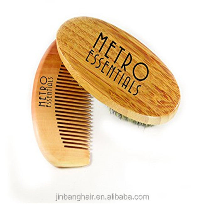 Wood brush for Salon Barber 100% boar bristles shaving brush wholesale beard brushes