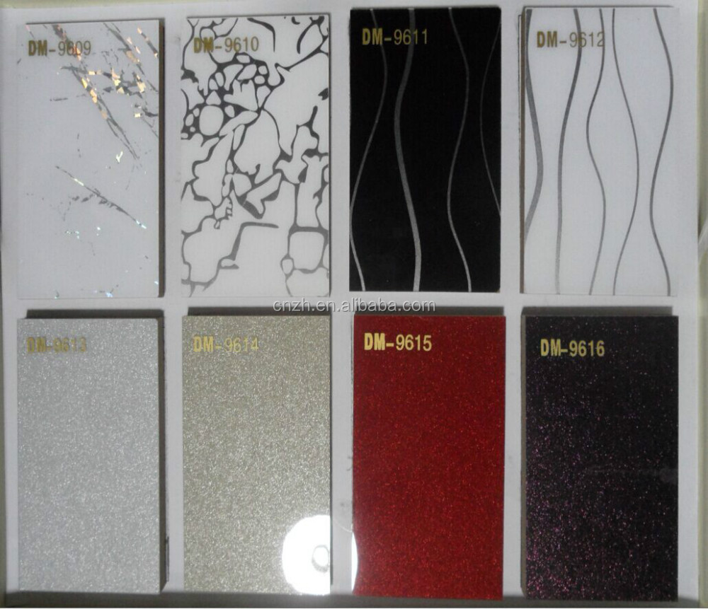 Decorative High Gloss Acrylic Sheet 1mm For Kitchen