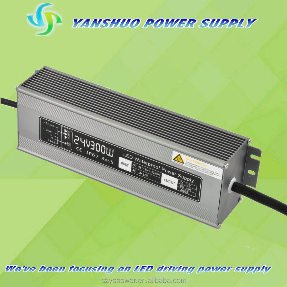 High Power 300w Ip67 Led Driver Constant Voltage Geclps3 Ge Tetra ...