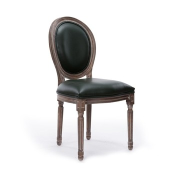 Clical Wood Round Back Dining Chair