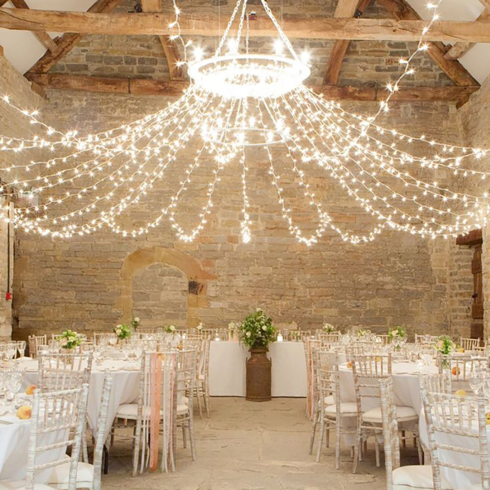 Barn Wedding Lighting Ideas: 20M 200LEDS Outdoor Home Warm White Christmas Decorative