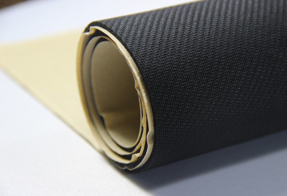 High Hold Power Self Adhesive Rubber Sheet Adhesive Backed