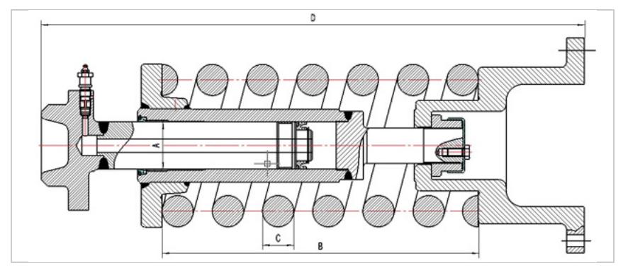 Excavator Track Tensioner - 0425