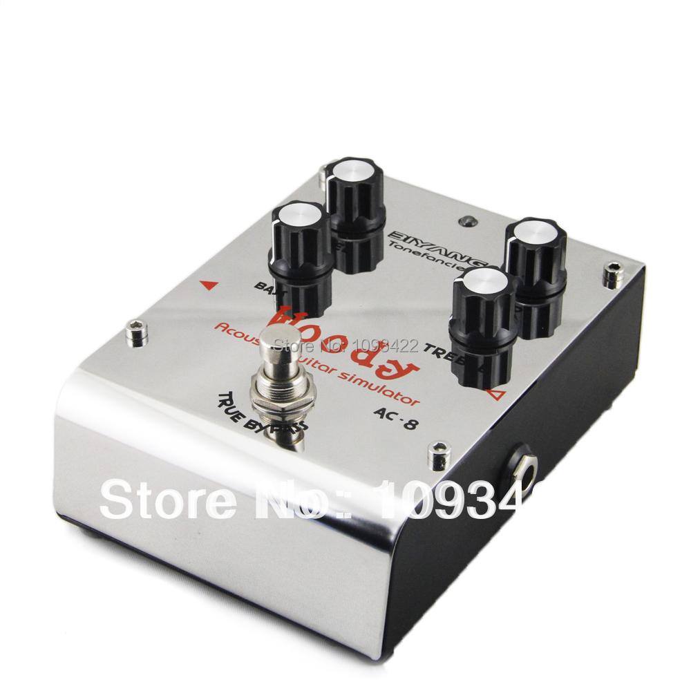 buy biyang ac 8 woody acoustic simulator pedal guitar effect pedal guitar. Black Bedroom Furniture Sets. Home Design Ideas