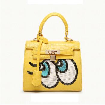 Las Trendy Designer Handbags Bags Pu Leather 2017 Women
