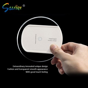 Samsnug mobile phone original wireless charger three coil plate 2 generation fast charge to S7 S6edge