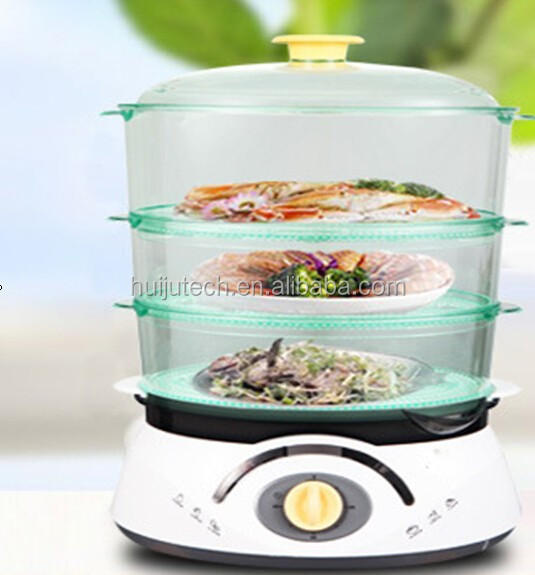 High capacity electric steam cooker household food steamer/electric egg boiler steamer cooker
