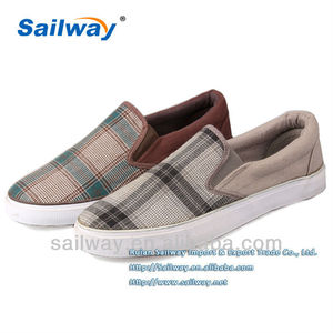 Mens' Slip on Canvas shoes