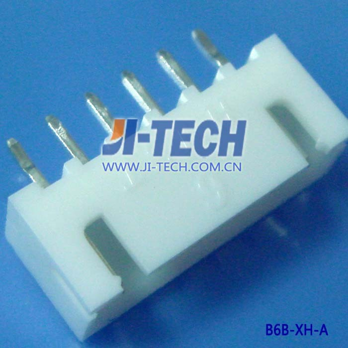 JST 2.5mm pitch 6 pin XH series wafer B6B-XH-A(LF)(SN) wire to board connector
