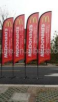 advertising telescopic fiberglass beach flagpoles