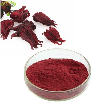 Top Quality 100% Natural Rose Eggplant Extract powder / Hibiscus Sabdariffa / Ruselle Extract Powder
