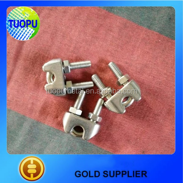 Hot Sale Wire Rope Fastener Clip,Us Type Stainless Steel Clip,M5 ...
