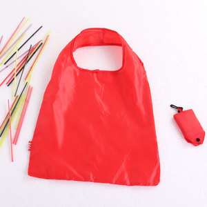 Ripstop eco recycling foldable polyester shopping bag