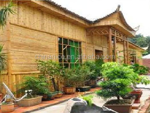Gartenhaus synthetische bambus fassadenverkleidung panel vorhangfassade buy gartenhaus - Bambus gartenhaus ...