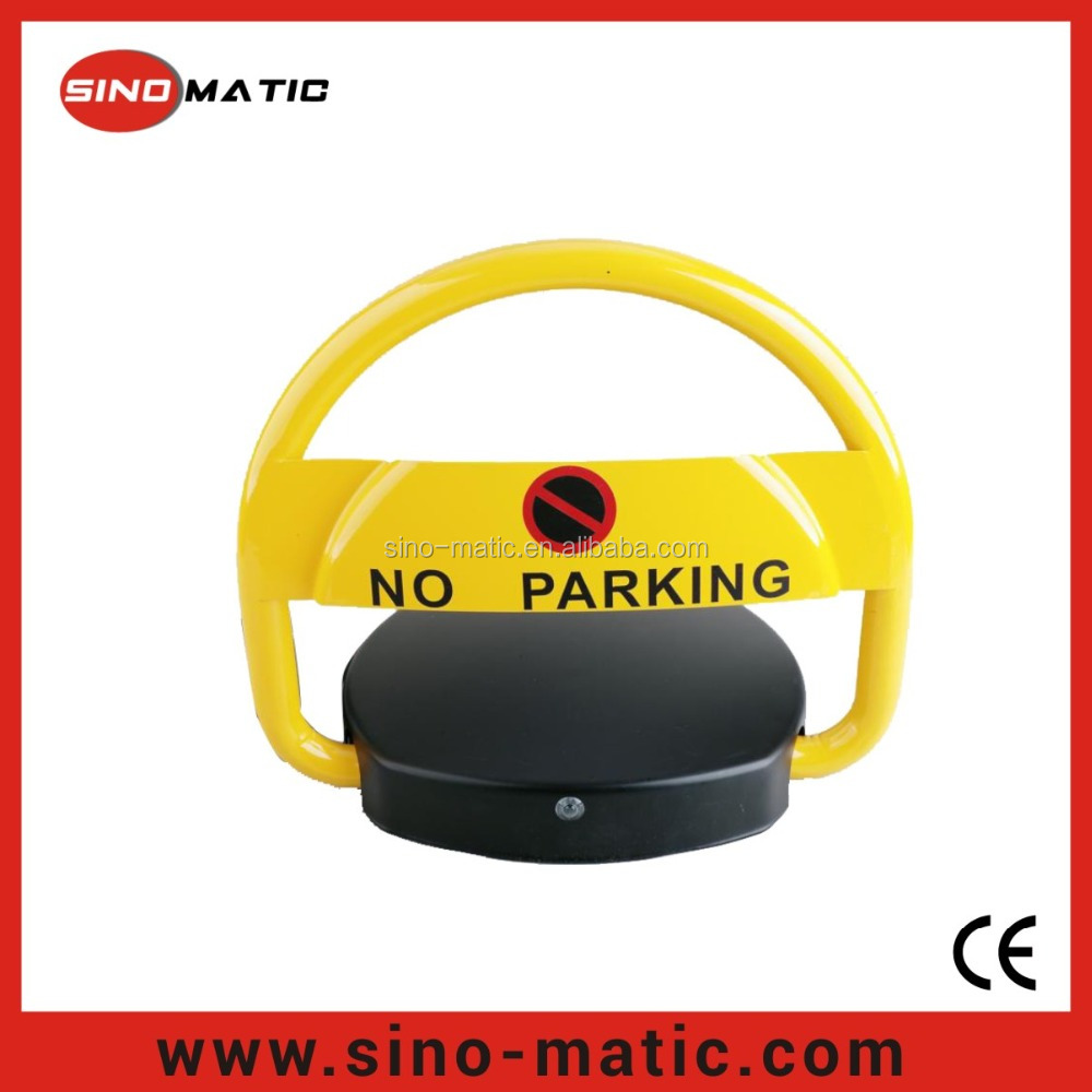 Vehicle guidance lead acid battery DC12V parking space lock