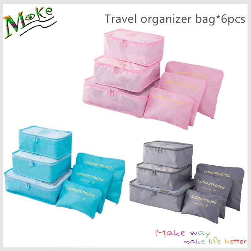 Custom logo acceptable ripstop clothing storage organizers personalized packing cubes for <strong>travel</strong>