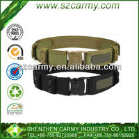 Special team soldier use outward bound tactical duty belt