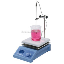 CE standard! ZXC-2A laboratory digital magnetic stirrer with ceramic heating plate