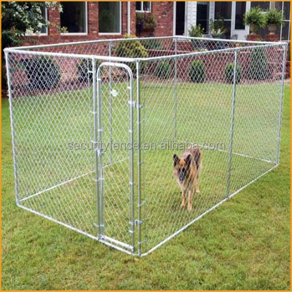 Wholesale high quality 6 x 10 x 6 big cheap galvanized for Cheap dog kennels for large dogs