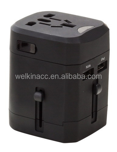 2014 New Universal Adapter with Double USB Ports