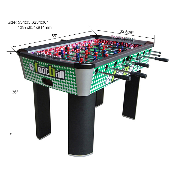 "55"" Superior modern soccer table for sale"