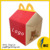 Bambini Happy Meal Box Food Grade Timpano Scatola di Carta