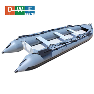 2 - 4 Persons PVC or Hypalon Inflatable Fishing Kayak Boat with Cheap Price