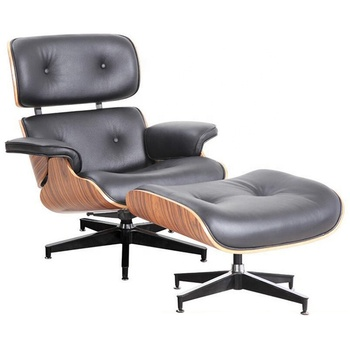 Fine Living Room Furniture Metal Frame Arms High Wing Back Lounge Chair With Leather Cover Ottman Stool Buy Modern High Back Wing Chair Modern Furniture Inzonedesignstudio Interior Chair Design Inzonedesignstudiocom