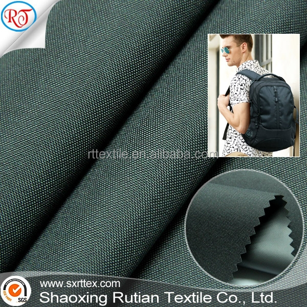 Polyester oxford DTY 300D 110T TPE fabric for backpack