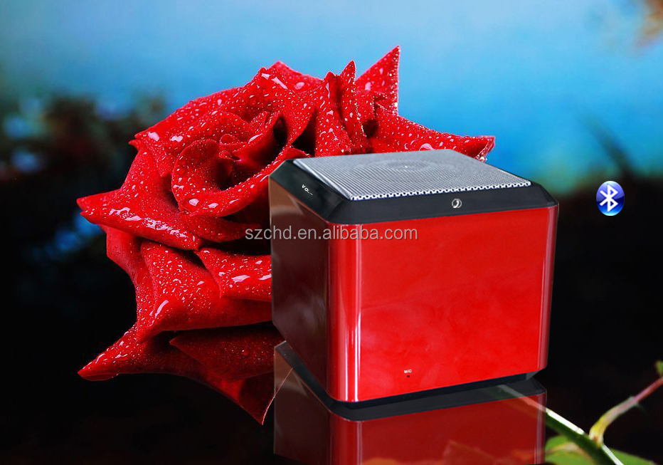 Colorful square shape mini bluetooth speaker for hindi new mp3 songs