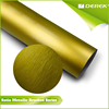 Hot Selling Matte Metallic Brushed matte green vinyl wrap image for Car Wrapping