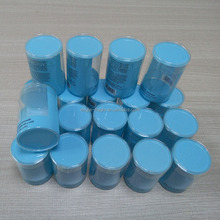 Dongguan Factory Printed Plastic Cylinder Tube, Clear PET Plastic Package