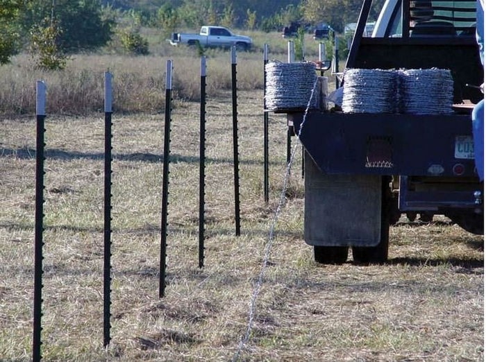 Fence Post / Used Metal Fence Post / T Fence Post