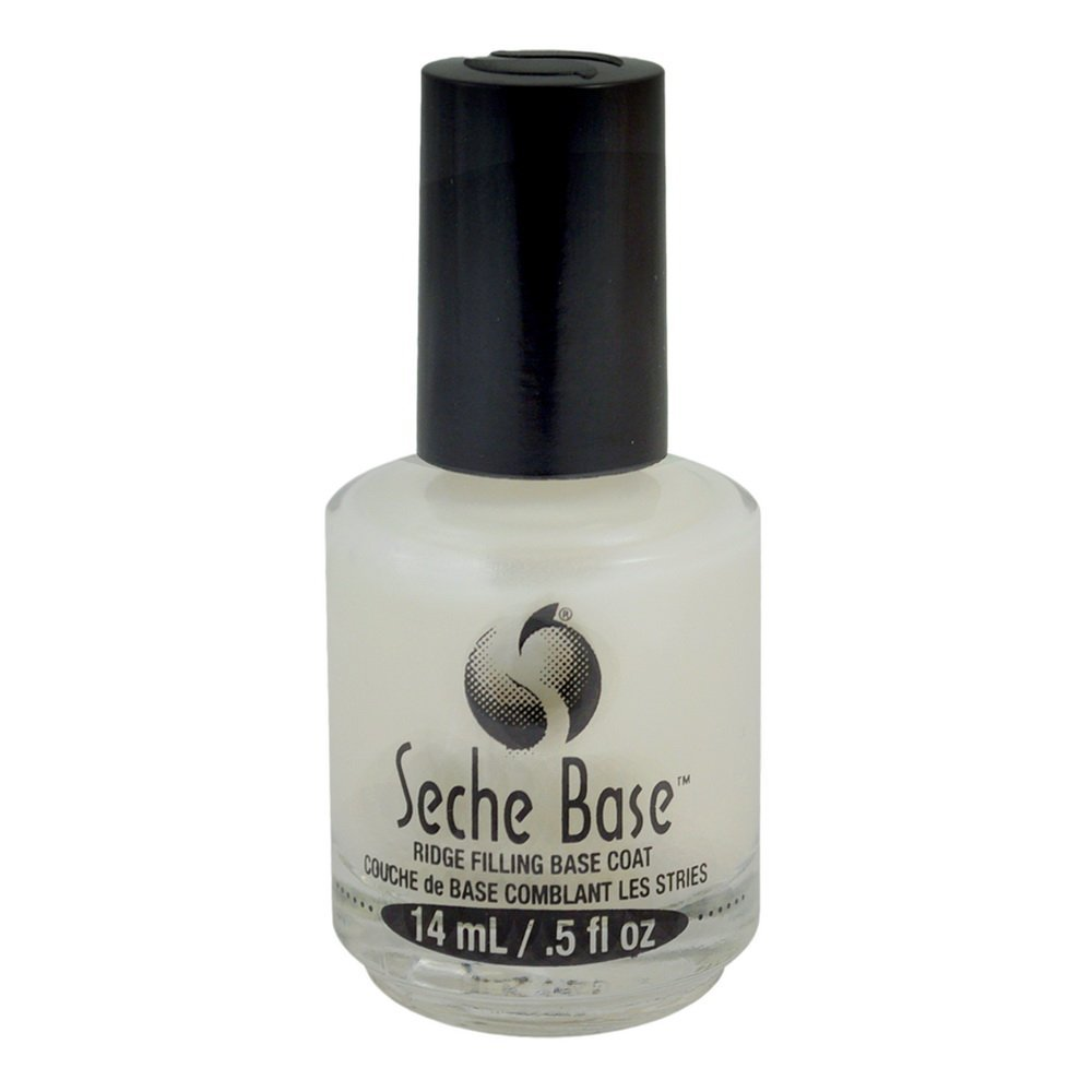 Lot 6 Seche Base Vite Ridge Filling Filler Coat Fill Foundation Polish Salon