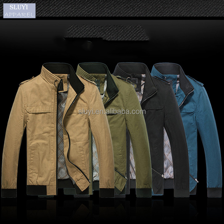 bomber jacket wholesale Men Classic Winter Jacket man Warm Comfortable Cotton Slim Coat 4 Colors zip up men jackets winter