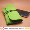 Bright color handmade felt mobile phone bag with high quality