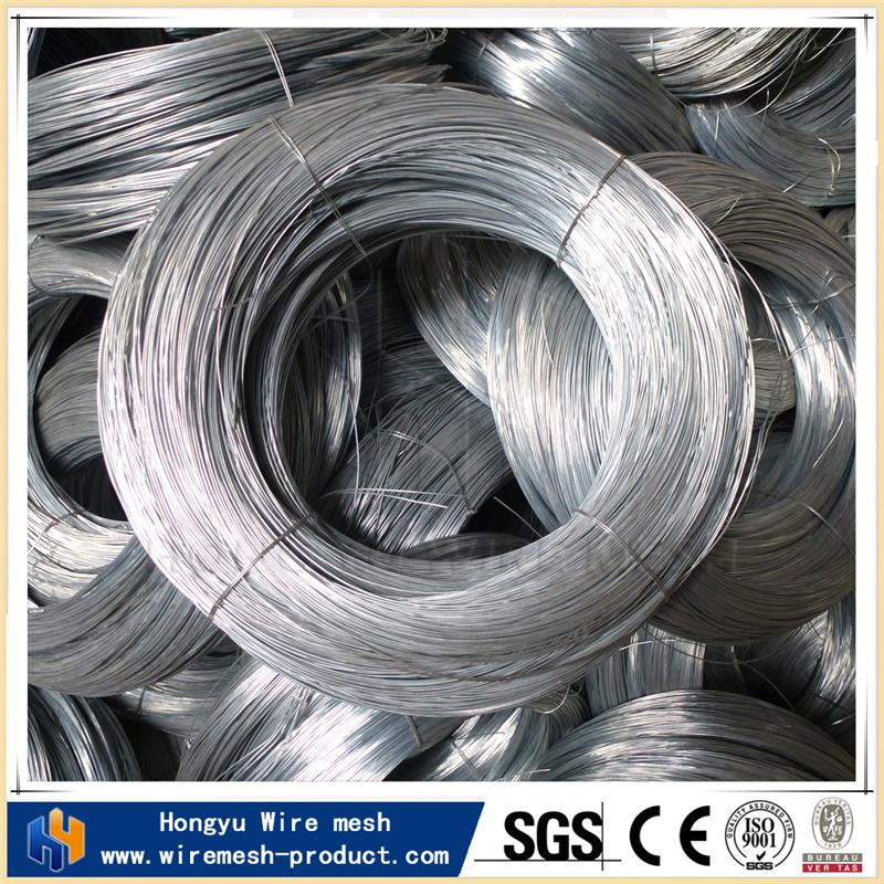 low carbon steel factory direct electro galvanized iron binding wire