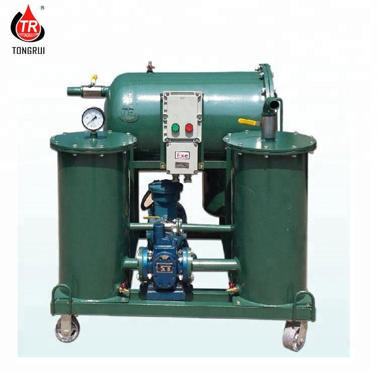 Mobile Diesel Fuel Oil And Water Separator Purification Recycling Refinery Machine
