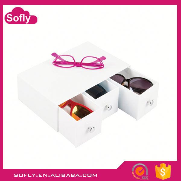 Handicraft Lucite Eyewear Glasses Display Showcase Furniture, Acrylic Display For Sale